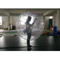 Buy cheap Football Game Inflatable Human Ball , Bumper Bubble Ball Lead Free Materials from wholesalers