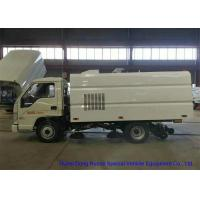 Buy cheap FORLAND Small Vaccum Road Sweeping Truck 1 - 2 Cbm Trash LHD / RHD / 4x2 / 4 X 4 from wholesalers