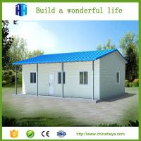 Buy cheap Light steel structure for main framework moving prefabricated steel frame house 100 m2 from wholesalers