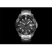 Buy cheap Waterproof Automatic Mechanical Watch Black Face Automatic Wrist Watch from wholesalers