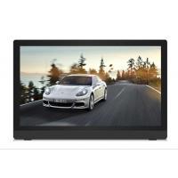 Black Wide Screen HD IPS 32 Inch Digital Photo Frame Plastic Case