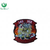 Buy cheap Colorful Sweatshirt Custom Woven Patches / Stick On Sewing Patches On Shirts from wholesalers