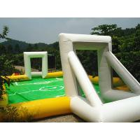 Buy cheap High Elastic Mini inflatable Sports Games Inflatable Water Soccer Field For Kids Playing Football Games from wholesalers