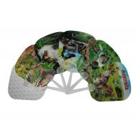 Buy cheap SGS Custom Lenticular Printing Celebrity Plastic Hand Held Fans from wholesalers