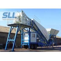 Buy cheap Professional Mobile Concrete Batching Plant Mobile Batch Plant Concrete With JS500 Mixer from wholesalers