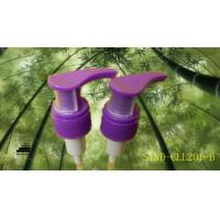 Buy cheap Purple Lotion Dispenser Pump Plastic Clip Lock 28 / 410 , CE / ROHS from wholesalers