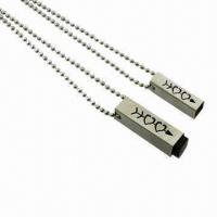 Buy cheap Refined Mixed Strip Style Pendants, Made of Stainless Steel, Can be Customized product