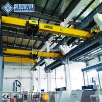 Buy cheap 16 Ton Workshop Overhead Crane System Geared Motor Frequency Control Low Headroom from wholesalers