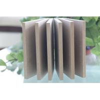 Buy cheap 2.5*1220*2440mm E2 raw MDF board with best price from wholesalers