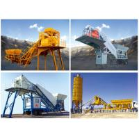 Buy cheap Good Cost Effective Ready Mix Cement Yhzs 35 Mobile Concrete Mixing Batch Plant product