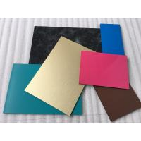 Buy cheap Spectra Blue Aluminium Interior Wall Panels Anti - Dust With High Impact Resistance product