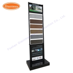 Buy cheap Granite Ceramic Metal Display Rack Wooden Tile Stand from wholesalers