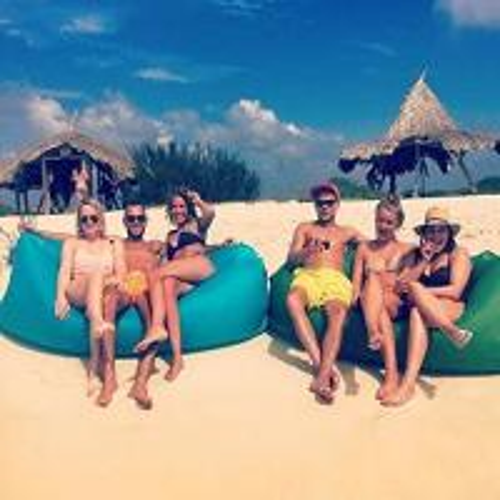 Fast Lanzac Hangout Air Lounger/ Inflatablebanana sleeping bag/inflatable sofa