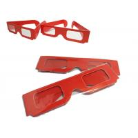 Buy cheap Theater Anaglyph 3d Glasses / 3d Passive Polarized Glasses Universal from wholesalers