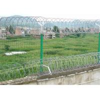 Buy cheap Corrosion Resistance Spiral Razor Barbed Wire With Red Vinyl Coating from wholesalers