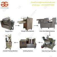 Buy cheap Easy Operate Chin Chin Making Process|Automatic Chin Chin Process Equipment|Chin Chin Making Machine Line With Factory from wholesalers