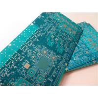 Buy cheap 10 Layer Multilayer PCB Built On FR-4 green soldermask With Immersion Gold from wholesalers