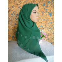 Buy cheap Beaded Muslim Square Scarf from wholesalers