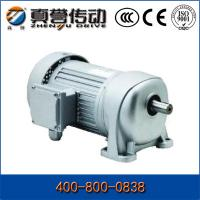 Electric Micro Helical Gear Motor 1400 Rpm Flange