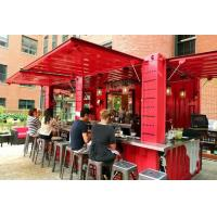 Buy cheap Portable Modified Prefab 20ft Shipping Container Shop for Restaurant from wholesalers