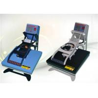 Buy cheap High Accuracy Industrial  Heat Press Machine With Flat Work Table and LCD Display from wholesalers