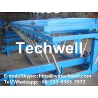 Buy cheap 10m-15m/min Productivity Auto Stacker Machine for About 8m Stacking Length from wholesalers