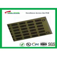 Buy cheap 1.6mm FR4 Single Sided PCB FR4 Surface Finish Immersion Sliver PCB from wholesalers