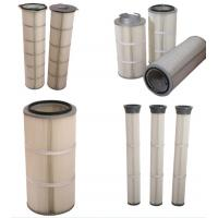 Buy cheap High Performance Industrial Air Filter Cartridges For Spray Booths Dust Collector from wholesalers