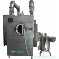 Buy cheap 3mm Roller Mesh Automatic Film Coating Machine Energy Saving Adjustable Hot Air product