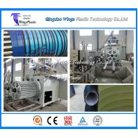 Buy cheap Plastic Winding Corrugated Pipe Machine , Krah Pipe Production Line from wholesalers