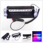 Buy cheap Car Police Strobe Flashlight , Universal 12V 640lm 8W Emergency Warning Lights from wholesalers