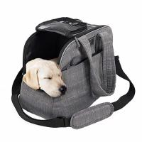 Buy cheap Polyester / Canvas Puppy Airline Carrier Bag , Soft Sided Dog Crates Airline Approved from wholesalers