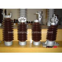 Vertical Porcelain Electrical Insulators , Post Type Insulator Easy Maintenance