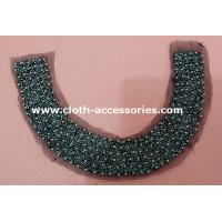46G Fashionable Round Vintage Beaded Collar With Eco - Friendly Plated