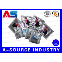 Buy cheap Customized Heat Sealed Aluminum Foil Pouch Oral Jelly Foil Bag Standing Up from wholesalers
