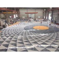 Buy cheap Decorative Marble Floor Medallions Border Designs Customized Shape from wholesalers