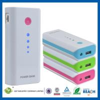 Buy cheap Laptop / iPad Portable Power Banks , 5600mAh USB Iphone / Samsung / HTC Slim Power Bank from wholesalers