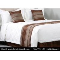 Buy cheap New Satin King White 100% Egyptian Cotton Bedsheets Sheets Hotel Comforter Bed Sheet Set from wholesalers