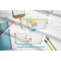 Buy cheap Supplier stationary silicone pen pouch/silicone rubber pen pencil bag, Customized Logo Rubber Zip Lock PVC Pencil Bag from wholesalers