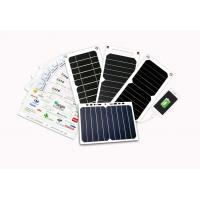 Buy cheap ETFE Coating Solar Mobile Phone Charger 5W 6W 7W With Auto Restart Tech from wholesalers