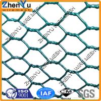Buy cheap 2 inch Green PVC Coated Hexagonal Wire Netting for animal chicken cages(Factory sales,cheap price) from wholesalers