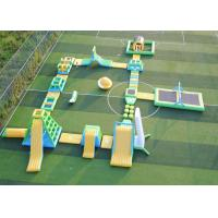 Buy cheap Attractive Inflatable Water Play Obstacle Course , Giant Inflatable Floating Water Park from wholesalers