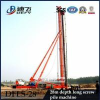 Buy cheap High Quality 28m Depth DFLS-28 Hydraulic Rotary Piling Rigs for Sale from wholesalers