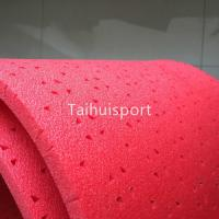 Buy cheap Red Rubber Artificial Turf Shock Pad Fire Resistant IEC62321 Standard from wholesalers