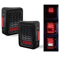 Buy cheap Red / White Turn Signal Backup Stop LED Tail Lights 6000K 3600 LM / Kit from wholesalers