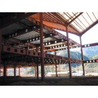 Buy cheap Hot Dip Galvanized, Welding, Braking, Rolling , Prefabricated Steel Pre-Engineered Building from wholesalers