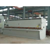 Buy cheap 12 x 2500 mm CNC Hydraulic Plate Shearing Machine With CNC Control System from wholesalers