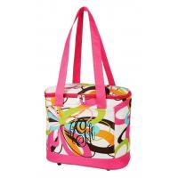 Buy cheap SALE Multi Colored Swirls Cooler Tote Bag FREE MONOGRAM-tote picnic lunch bag insulated lunch bag from wholesalers