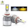 Buy cheap High Power Car H4 Led Headlight Bulb / 12V Cob C6 Led Headlight Super Bright from wholesalers