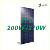 Buy cheap 27V Polycrystalline Photovoltaic Solar Module 200W 205W 210W Made By 6 Inch Cells from wholesalers